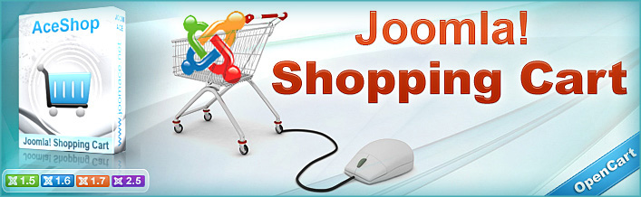 Introducing AceShop, the ultimate Joomla Shopping Cart